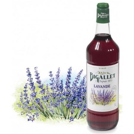 Bigallet Lavender SYRUP 1 L