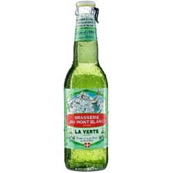 MONT BLANC GENEPI La Verte Blondes französisches Bier 5,9 ° 33 cl