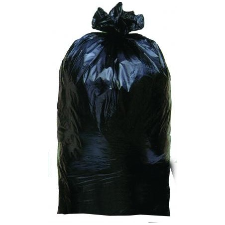 GARBAGE BAG -Black 45 μ 130L- roll 25 bags