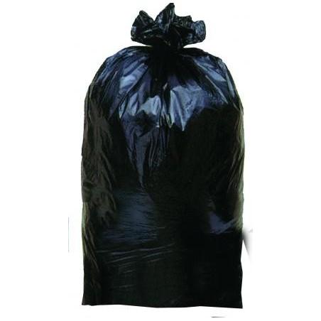 SAC POUBELLE -Noir 45 µ 130 L- le rouleau 25 sacs