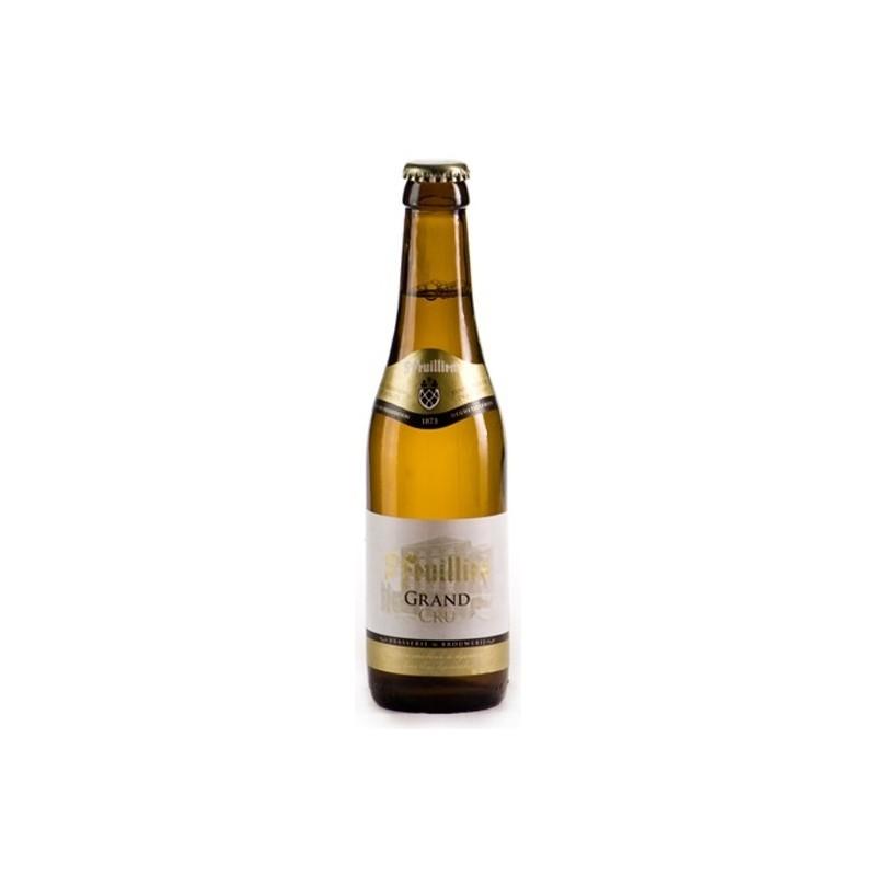 Bière SAINT FEUILLIEN GRAND CRU Blonde Belge 9.5° 33 cl