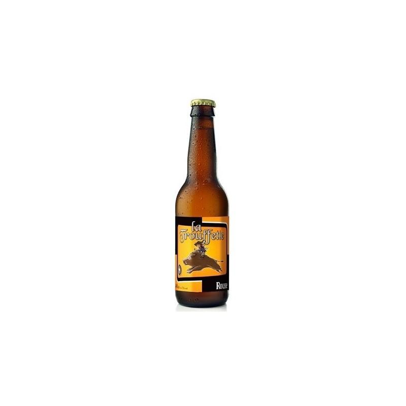 Cerveza TROUFFETTE Rousse Belge 7.5 ° 33 cl