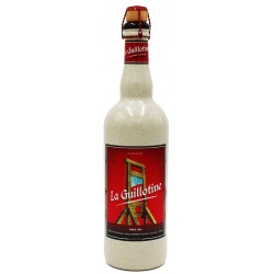 LA GUILLOTINE Cerveza belga rubia 9 ° 75 cl