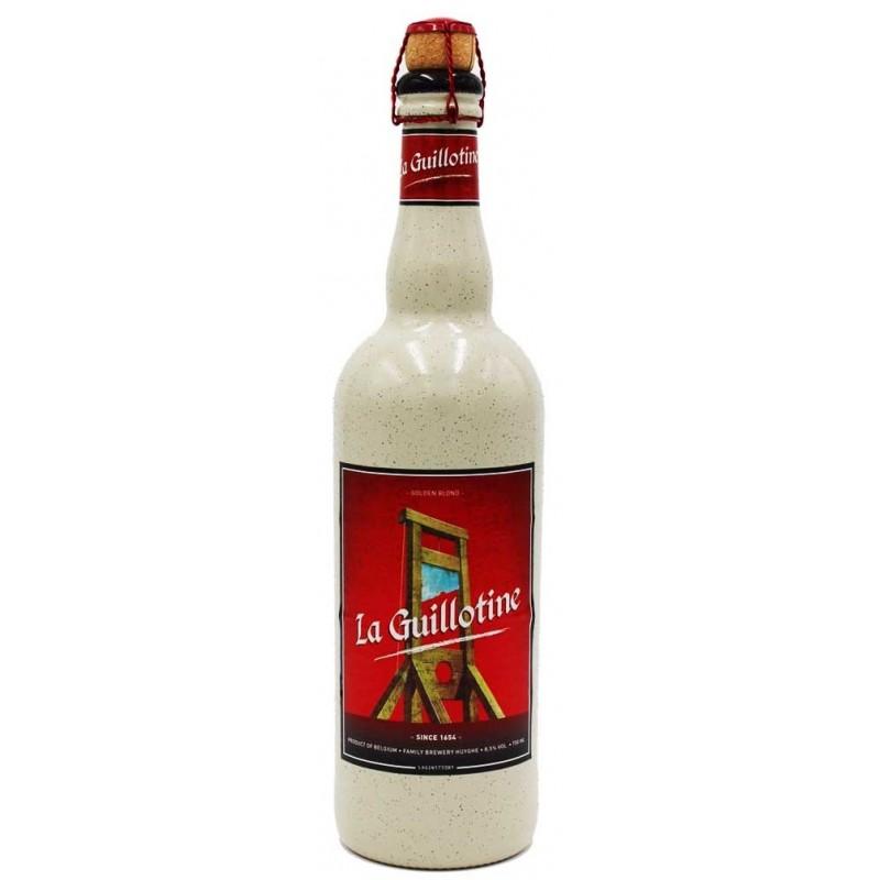 Bière GUILLOTINE Blonde Belge 9° 75 cl