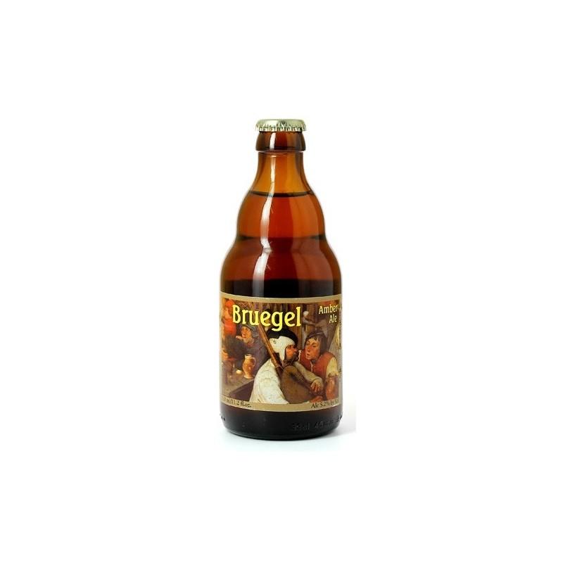 Bière BRUEGEL Ambrée Belgique 5.2° 33 cl