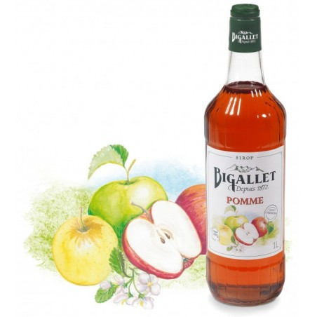 Bigallet apple SYRUP 1 L