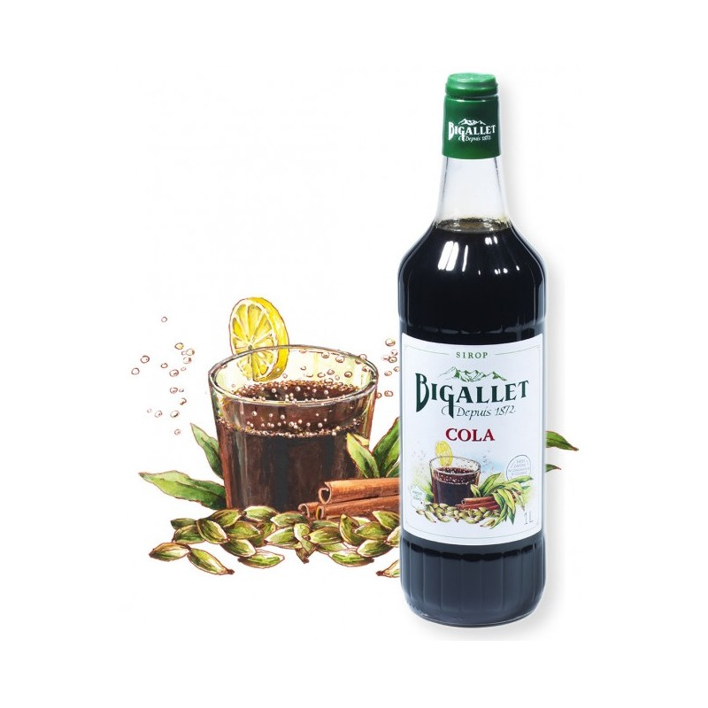 SYRUP of Cola Bigallet 1 L