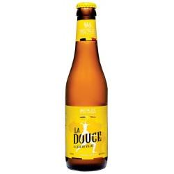 Bière LA DOUCE DE VILLEE Blanche Belge 5.9° 33 cl