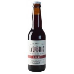 Bière LYDERIC ROUGE Myrtilles Groseilles Blonde Française 7.5° 33 cl