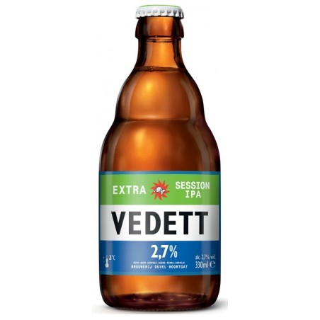 Bière VEDETT EXTRA SESSION IPA Blonde Belge 2,7° 33 cl