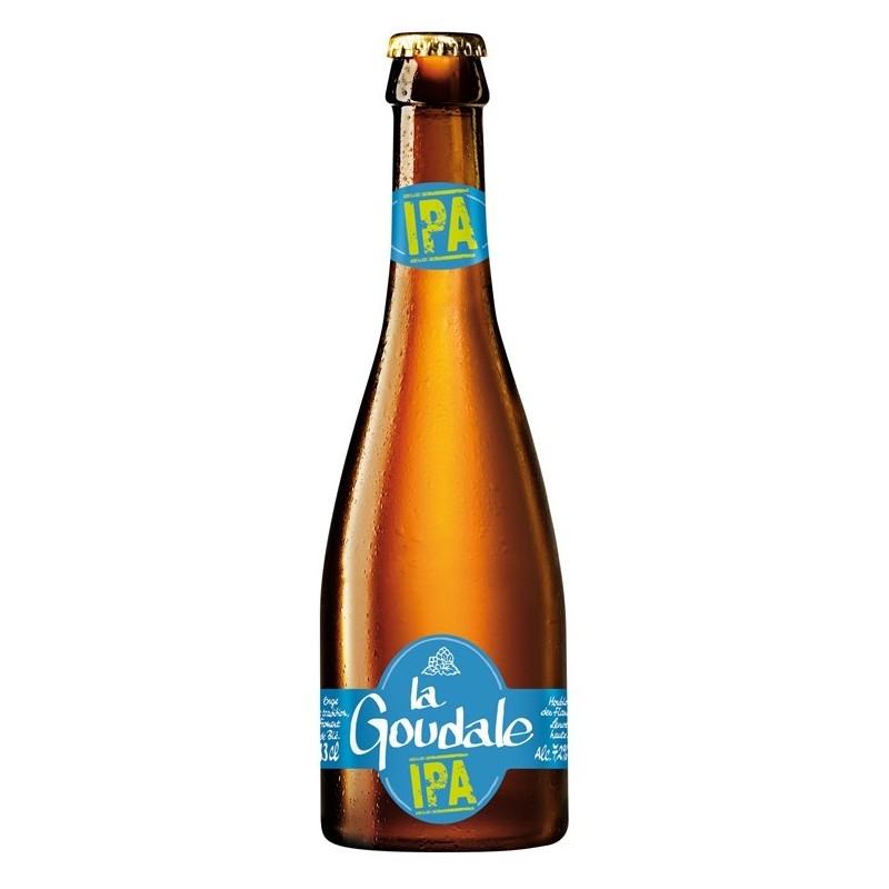 Bière LA GOUDALE IPA Blonde Française 7.2° 33 cl