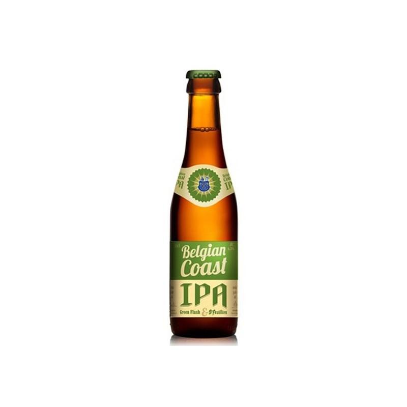 Bière BELGIAN COAST Blonde IPA Belgique 7,5° 33 cl