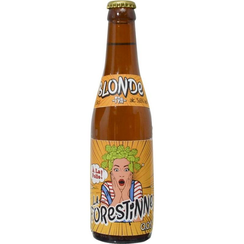 Bière FORESTINNE Blonde IPA Belge 5,6° 33 cl