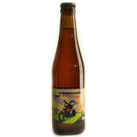 Bière SCHENENSCHOPPER Blonde IPA Belge 3,3° 33 cl