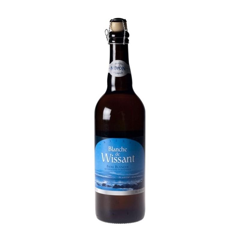 Bière BLANCHE de WISSANT Blanche Française 4,5° 75 cl