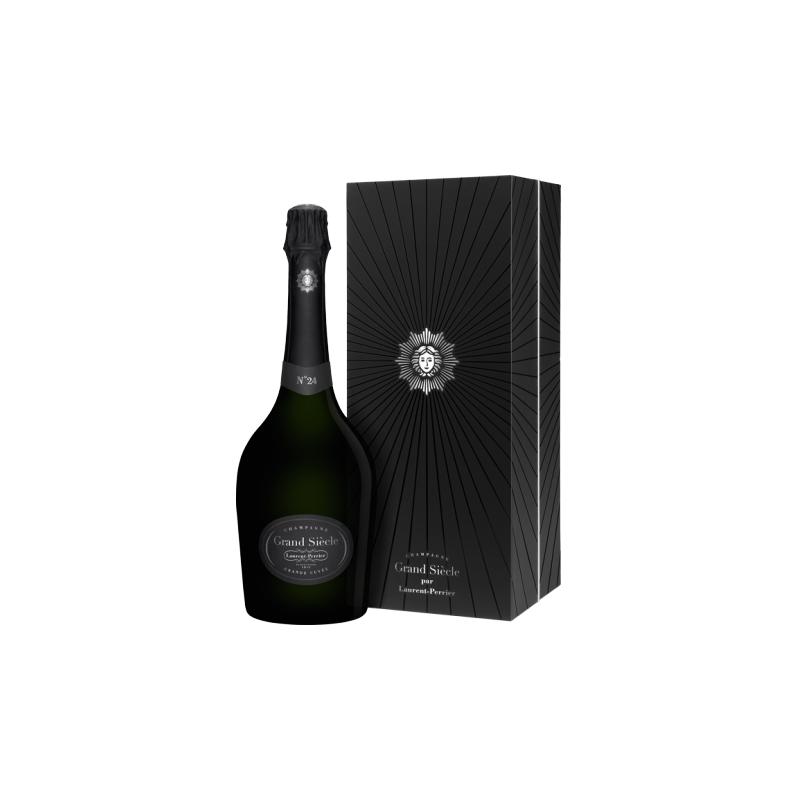 Laurent-Perrier Cuvée Grand Siècle N°24 CHAMPAGNE BRUT Vin Blanc AOP 75 cl dans son coffret
