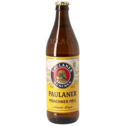 PAULANER Original Münchner Hell Blonde beer German 4.9 ° 33 cl