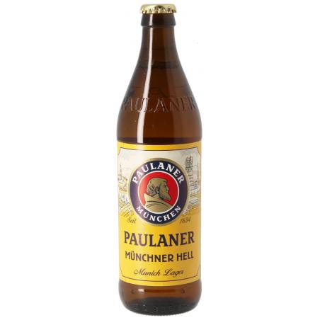 Bière PAULANER Original Münchner Hell Blonde Allemande 4,9° 33 cl