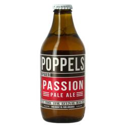 POPPELS PASSION PALE ALE Birra Bionda Svedese 5.2 ° 33 cl
