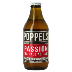 POPPELS PASSION PALE ALE Schwedisches blondes Bier 5,2 ° 33 cl