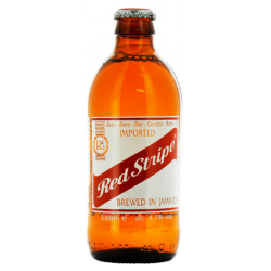 RED STRIPE Blond Jamaican beer 4.7 ° 33 cl