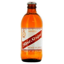ROTER STREIFEN Blondes jamaikanisches Bier 4,7 ° 33 cl