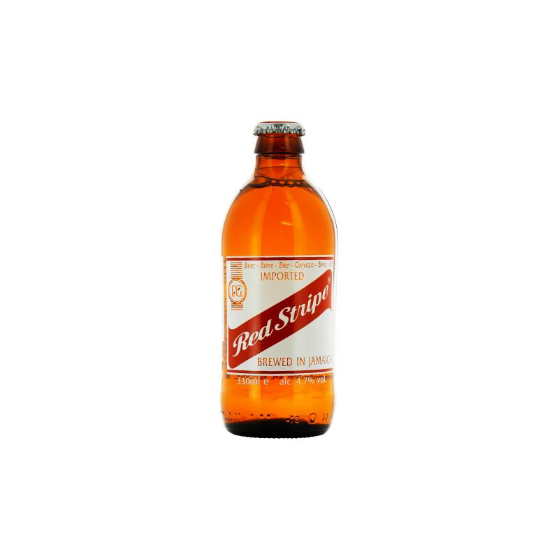 Bière RED STRIPE Blonde Jamaïcaine 4,7° 33 cl