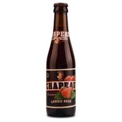 Bière CHAPEAU Blonde à la Fraise Belge 3,5° 25 cl