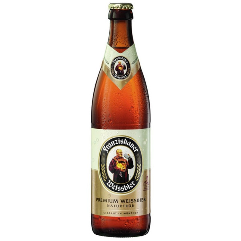 Bière FRANZISKANER NATURTRUB Premium Blanche Allemande 5° 50 cl