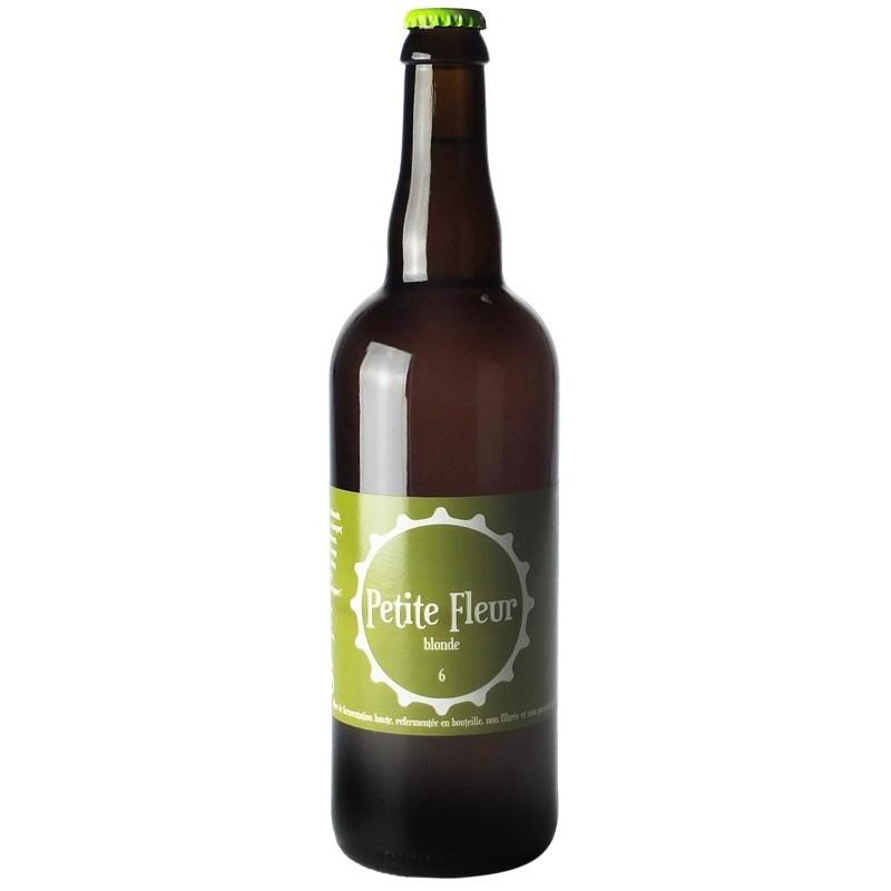 Bière PETITE FLEUR Blonde Française 6° 75 cl