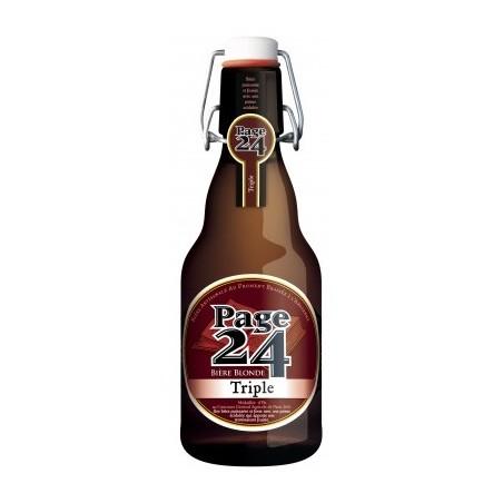 Bière PAGE 24 Triple Française 7,9° 33 cl