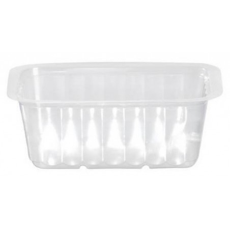 Translucent TRAY sealable and microwaveable 500 cc - the 100