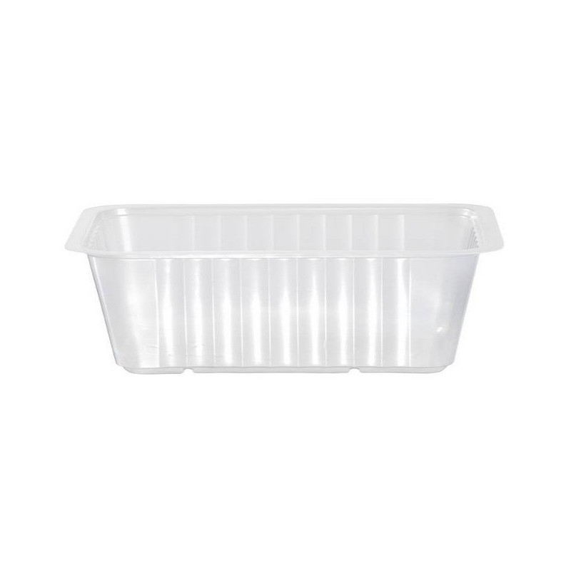 Translucent TRAY sealable and microwaveable 1015 cc - the 160