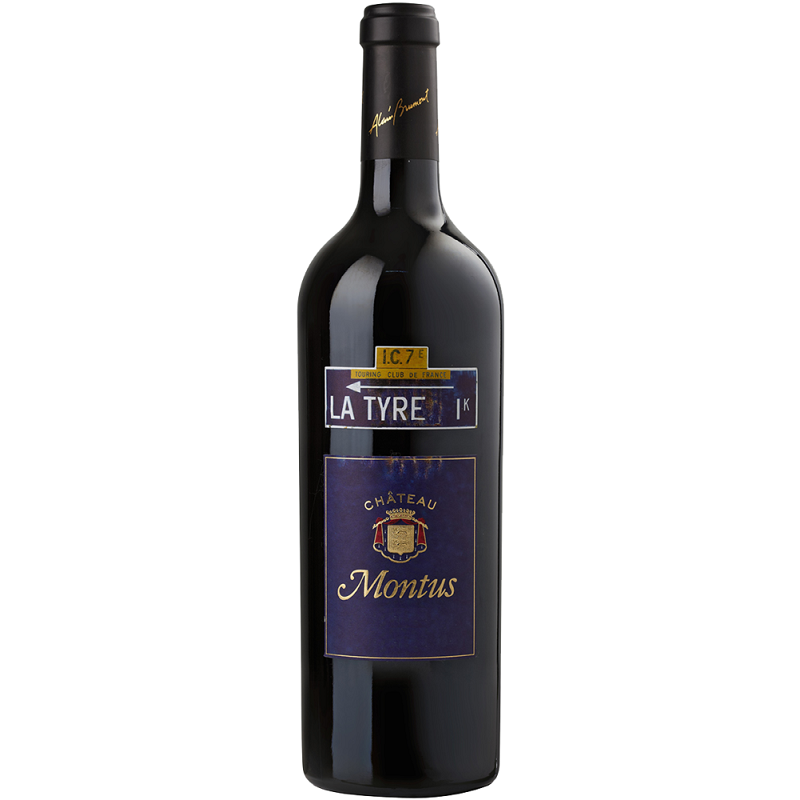 La Tyre Château Montus MADIRAN Red Wine PDO 75 cl