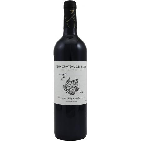Signature Vieux Château des Rocs LUSSAC SAINT EMILION Vino Rosso DOP 75 cl