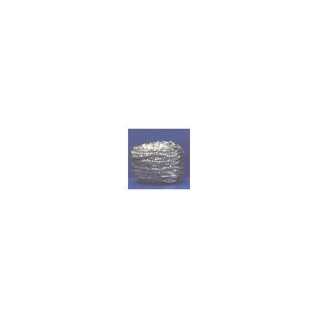 EPONGE TAMPON INOX -40 g- les 10