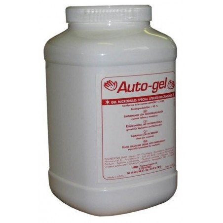 GEL BEADS HAND SOAP with solvent - Bottle 4.5L
