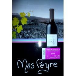 Mas Peyre COTES DU ROUSSILLON Vino rosato AOP BIO Fontana del vino BIB 5 L