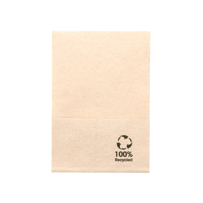 NAPKIN Natural BIO for Table Dispenser 1 thickness 17X17 cm - the bag of 200