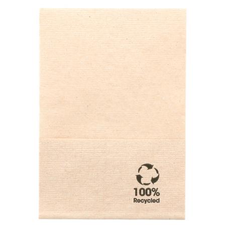 NAPKIN Natural BIO für Tischspender 1 Dicke 17X17 cm - der Beutel mit 200 Stück