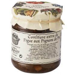 Mermelada de higos con piñones Bigallet cocidos en caldero - Tarro 250 g