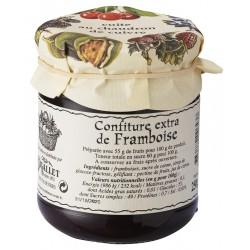 Mermelada de frambuesa Bigallet cocida en caldero - Tarro 250 g