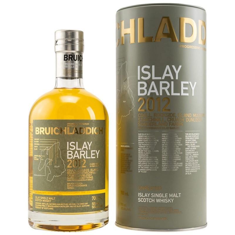 WHISKY BRUICHLADDICH Islay Barley 2012 50° 70 cl dans son étui