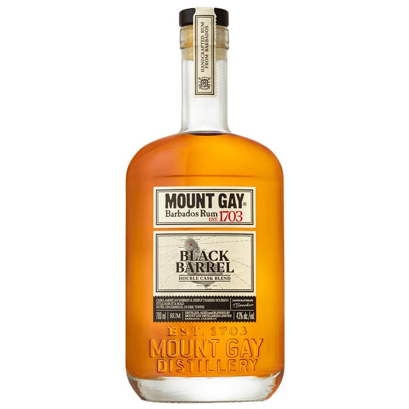 RHUM Ambré MOUNT GAY Black Barrel 43° 70 cl