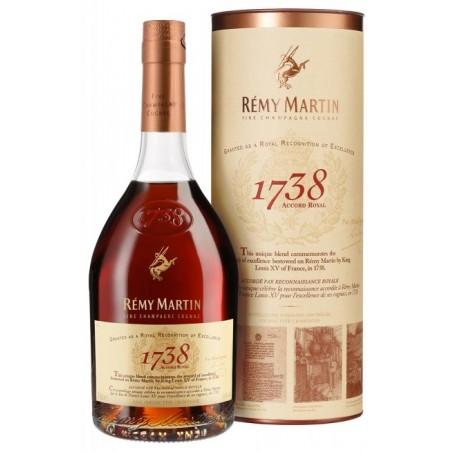 COGNAC Rémy Martin 1738 Accord Royal 40 ° 70 cl en su estuche
