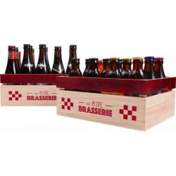 Holzkiste Rot und natürlich Meine kleine Brauerei