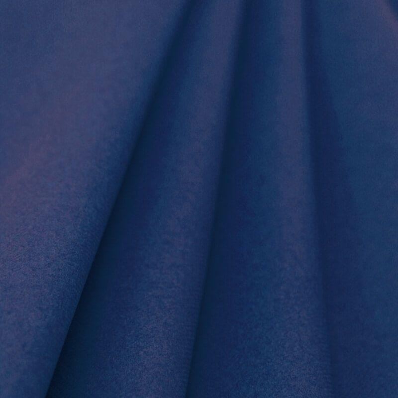 Nappe Bleu Marine en papier intissé largeur 1,20 m - le rouleau de 25 m