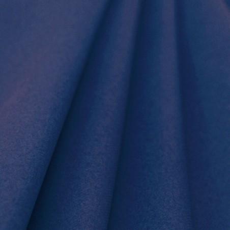 Mantel no tejido azul marino ancho 1,20 m - rollo 25 m