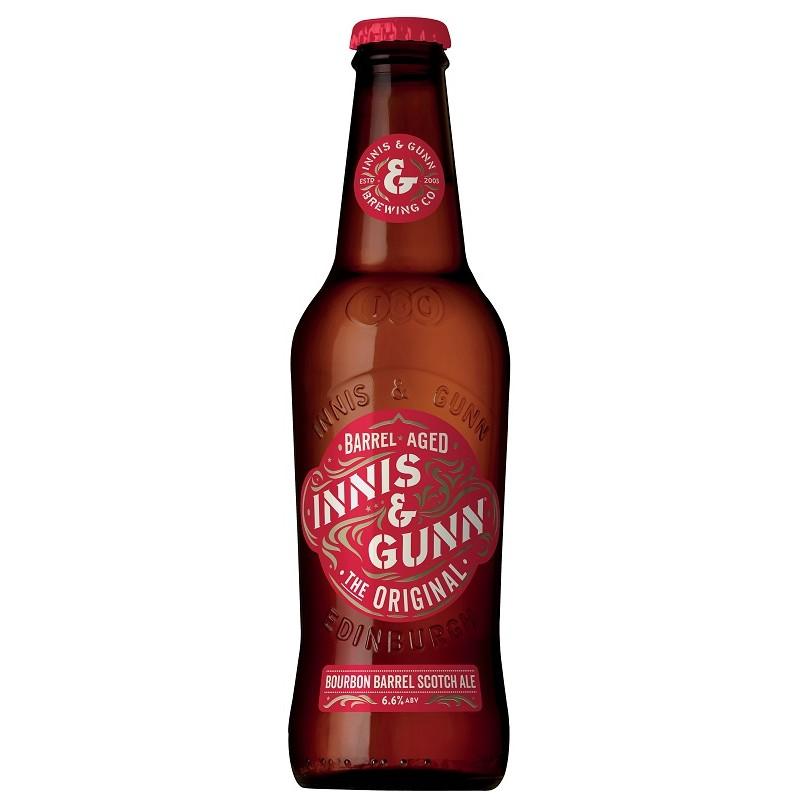 Bière INNIS AND GUNN Original Ambrée Ecosse 6.6° 33 cl