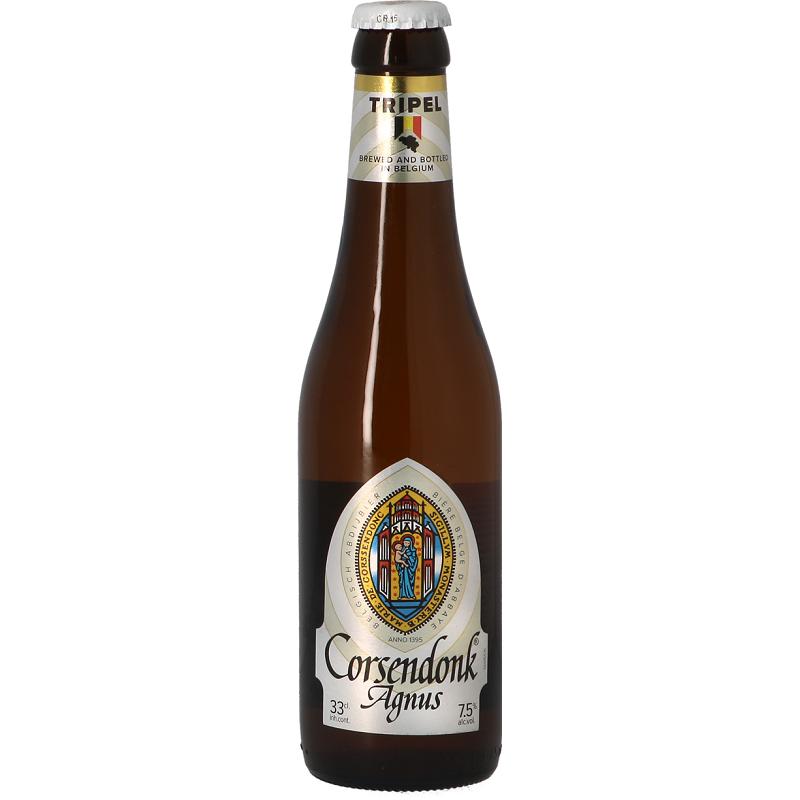Bière CORSENDONK AGNUS Triple Belge 7.5° 33 cl